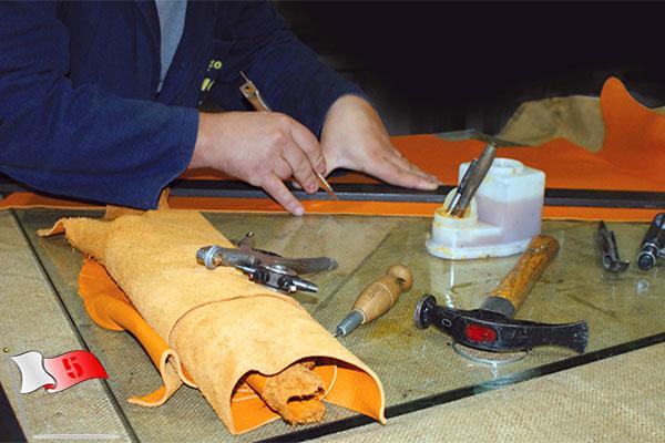 برش چرم در ترفندها و راهکارهای کاربردی در چرم دوزی