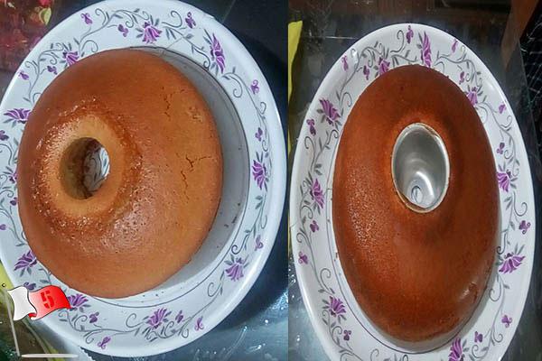کیک میوه ای بون فر